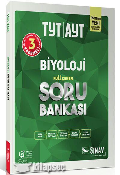 Sınav Yayınları Biyoloji TYT AYT Full Çeken Soru Bankası