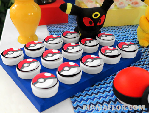 Postres Personalizados decorados de Pokemon