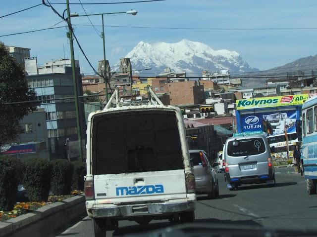 La avenida Montes en La Paz