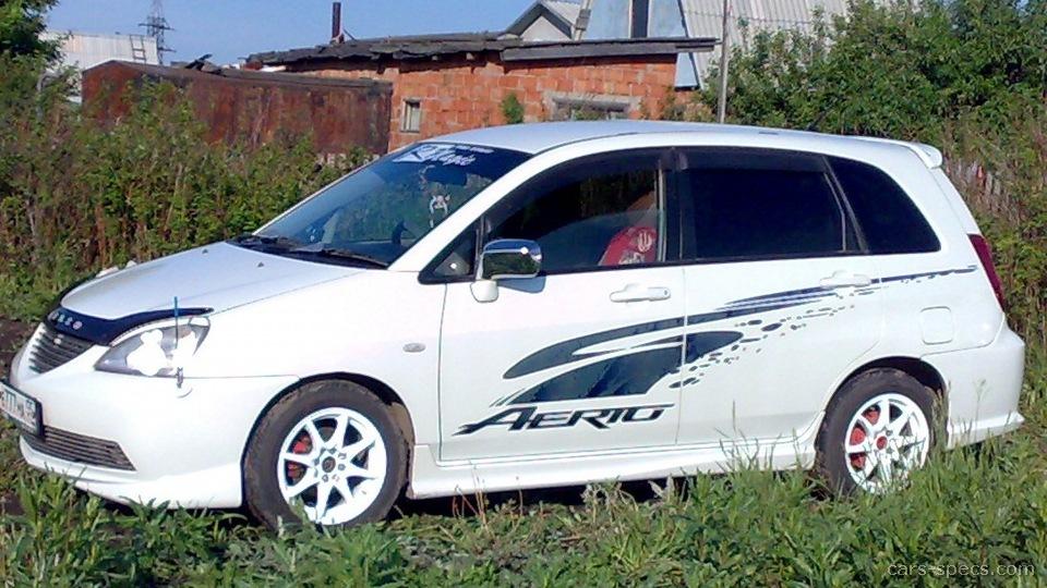 Suzuki Aerio Wagon Mpg