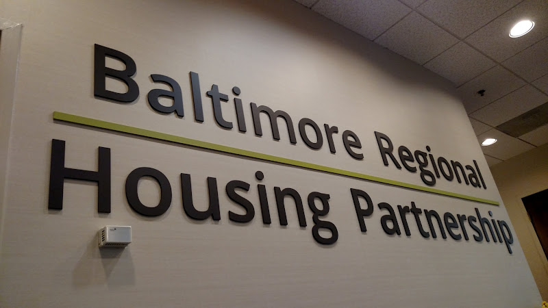 dimensional letters baltimore regional housing partnership