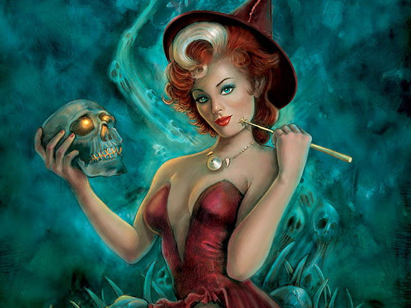 Witch And Shining Scull, Wicca Girls