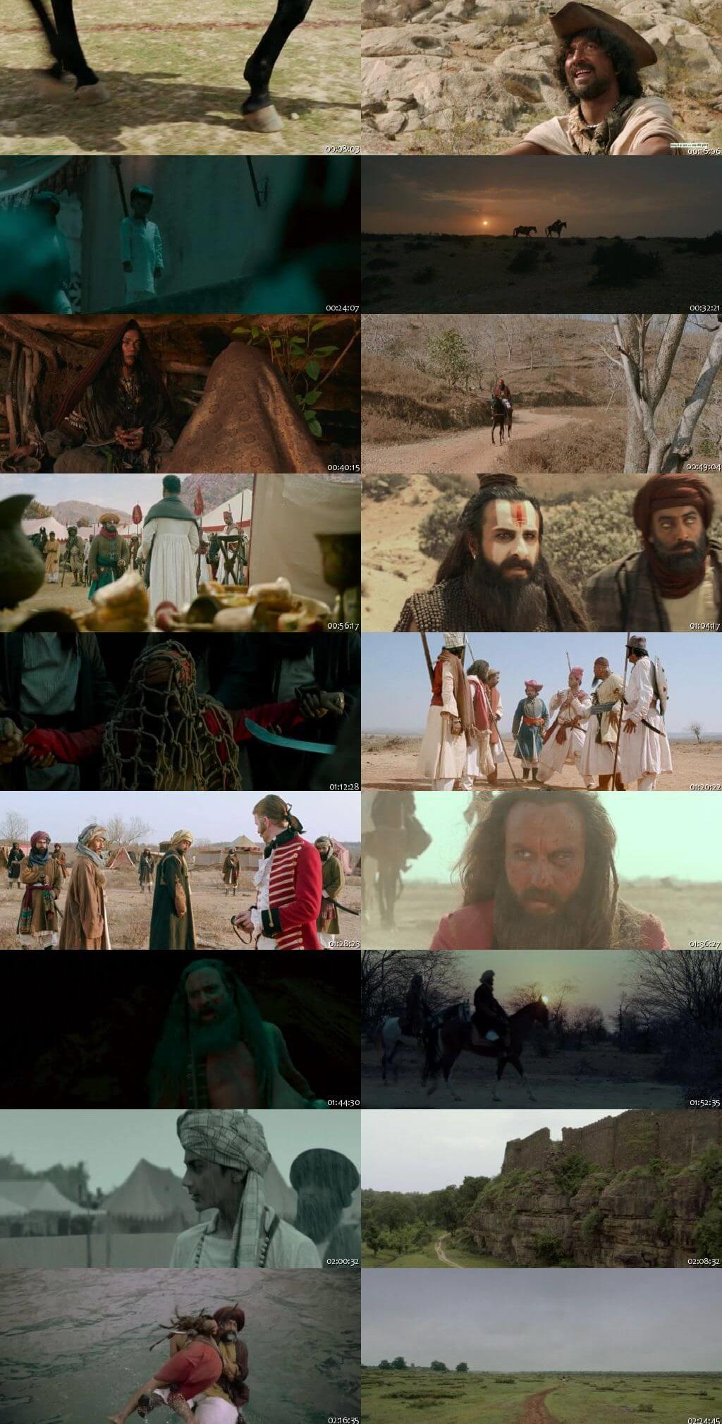 Screen Shot Of Laal Kaptaan  2019 Full Movie Free Download HD 720P Watch Online