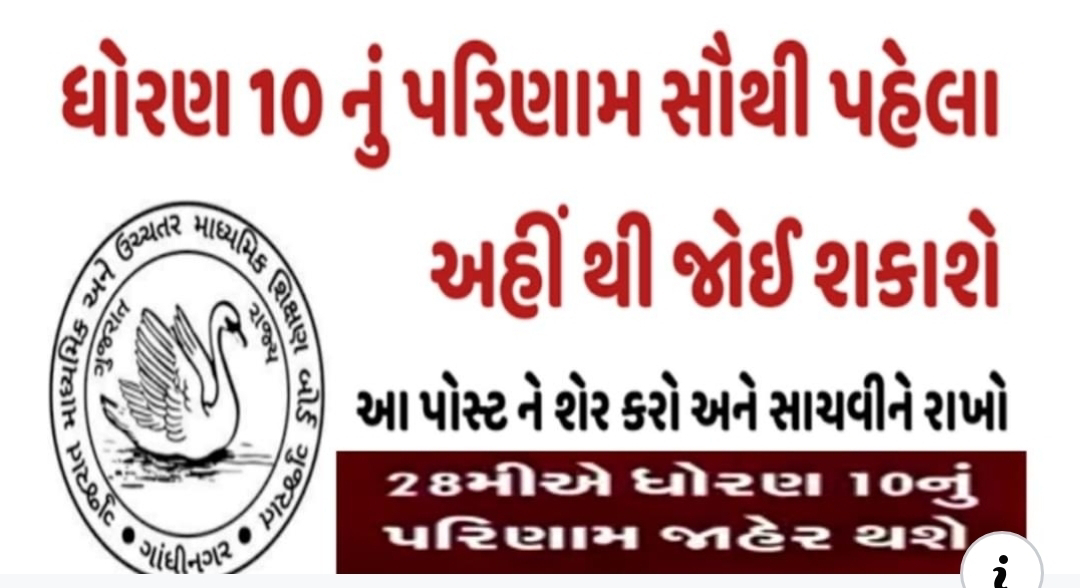GSEB SSC Result 2020, Gujarat Board 10th Result Date Declared