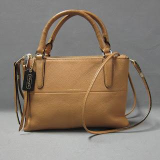 Coach Leather Micro Bag