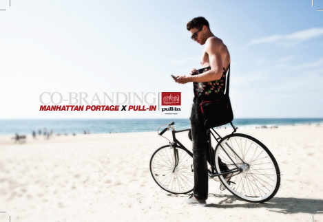 Pull-In & Manhattan Portage Co-branded Bags