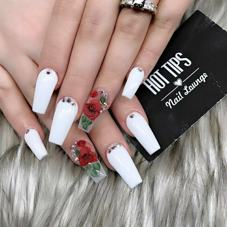 Trendy Acrylic Nail Art Designs For This Year - fashonails