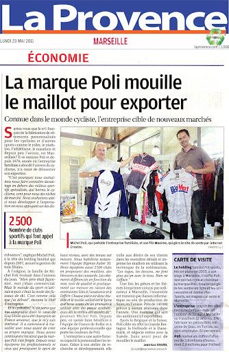 La Provence - 23 Mai 2011 - Article de presse POLI