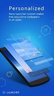 Nano Launcher-simple&smart Screenshot
