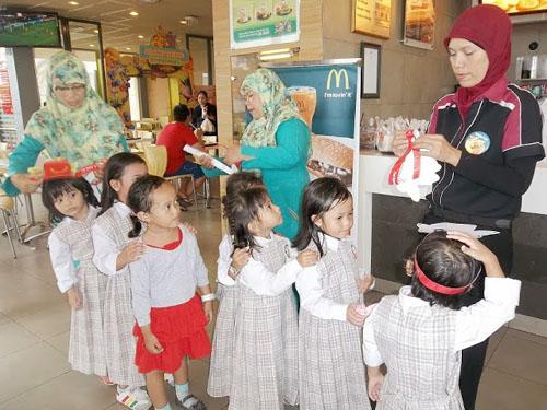 wisata kuliner anak, berkunjung ke mcdonald's