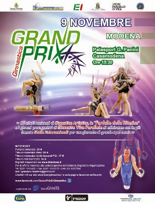 Il Grand Prix di Ginnastica un evento di sport e spettacolo