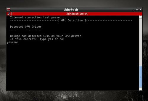 Bridge Linux 2012.8 Light Lxde - script post installazione