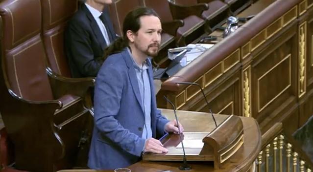 Pablo Iglesias . Congreso.