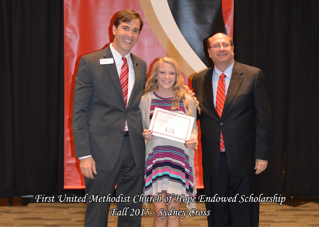 Scholarship Ceremony Fall 2015 - First%2BMethodist%2B-%2BSydney%2BCross.jpg