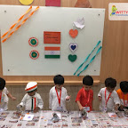 Independence Day Celebration by Playgroup Morning Section at Witty World, Chikoowadi (2018-19)