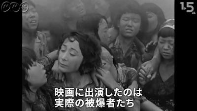 『ひろしま』は被爆8年後に被爆者が演じて製作された反戦映画