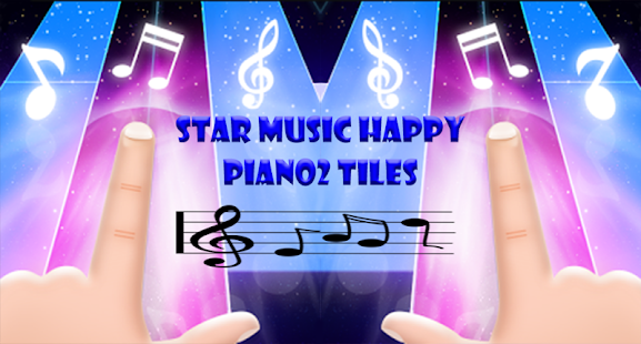 Star Music Happy Piano2 Tiles - náhled