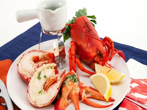 Steamed Lobster