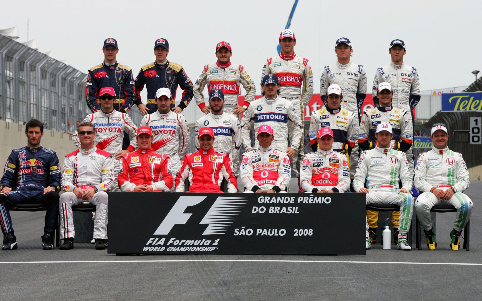 HD Wallpapers 2008 Formula 1 Grand Prix of Brazil | F1 ...