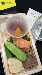 Scenes from Sake Fest PDX 2015 - mini bento from Yama