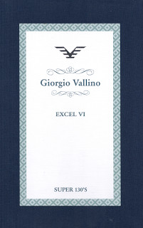Giorgio Vallino Excel VI, Super 130's, Anzug €700/-
