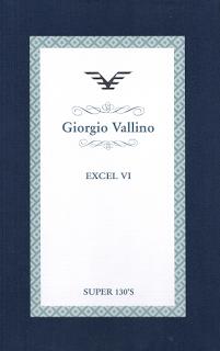 Giorgio Vallino Excel VI, Super 130's, Anzug €700/-