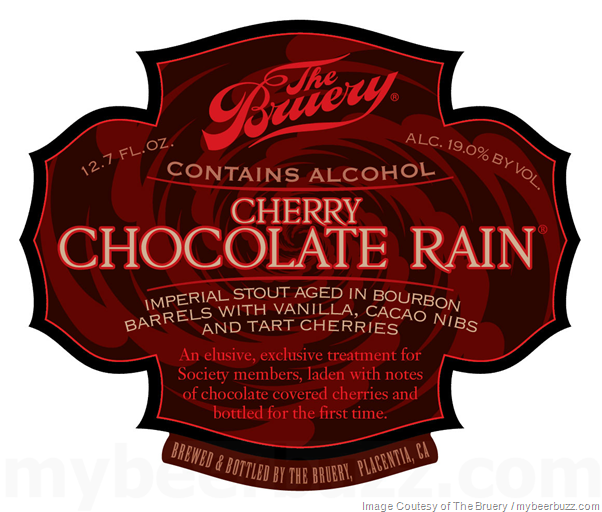 The Bruery Cherry Chocolate Rain