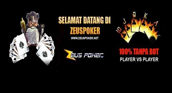 Zeus poker domino
