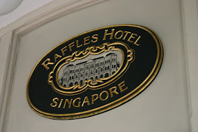 Logo of the Raffles Hotel