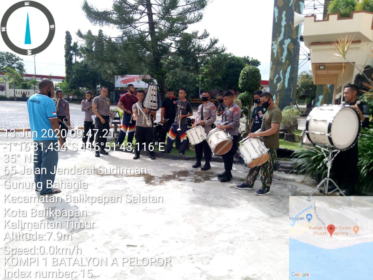 Multitalenta, Batalyon A Pelopor Brimob Kaltim Latihan Korsik