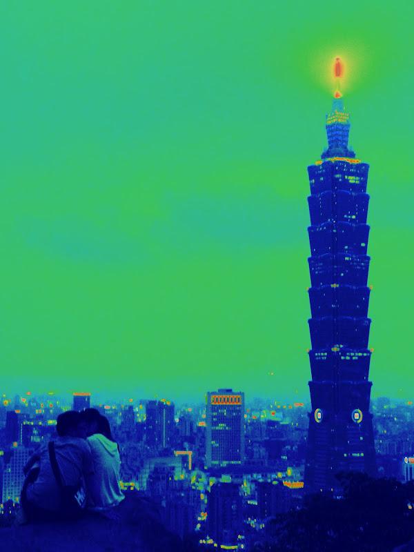 TAIWAN Taipei,Elephant mountain et proche de Shiding - P1140368.JPG