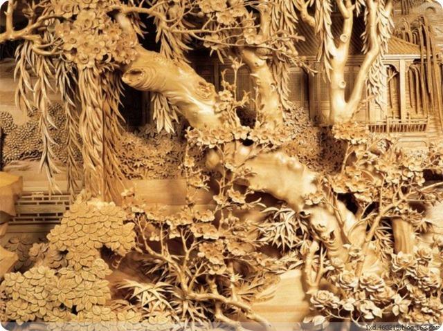 Zheng Chunhui's stunning wood sculpture-3