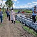 Legislator PPP Sulsel Andi Nurhidayati Tinjau Lokasi Pembangunan Jalan Tani di Rompegading