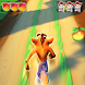 Subway Crash Runner 3D : Nsane Trigoly Game