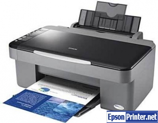 How to reset Epson DX4050 printer