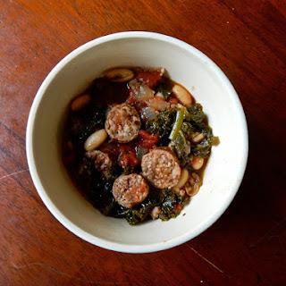 Sausage, Bean, & Kale Stew