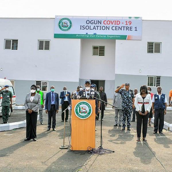 COVID-19: Gov. Dapo Abiodun Commissions Three isolation Centres