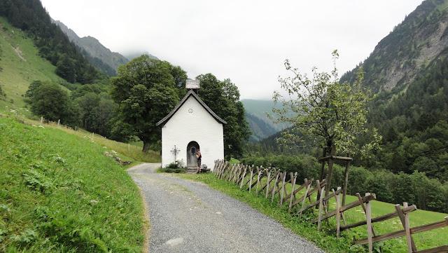 Tour Oberstdorf Älpelesattel Allgäu - Kapelle im Gerstrubental