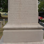 Confederate Momument James A. Gleaves Son of James T. & Sarah Dunaway Gleaves Cedar Grove Cemetery Lebanon, Tennessee
