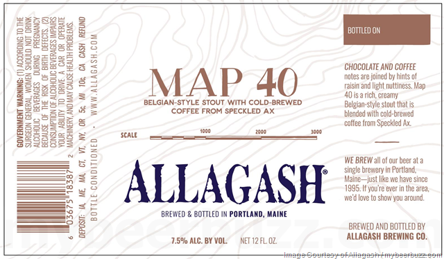 Image result for allagash map 40