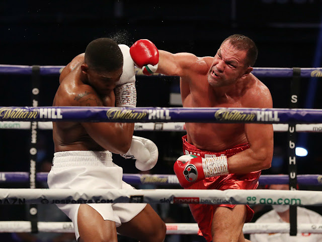 Pulev landed a heavy one on Joshua