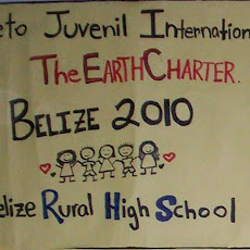 Belize, March 2010. Earth Charter Youth Project.