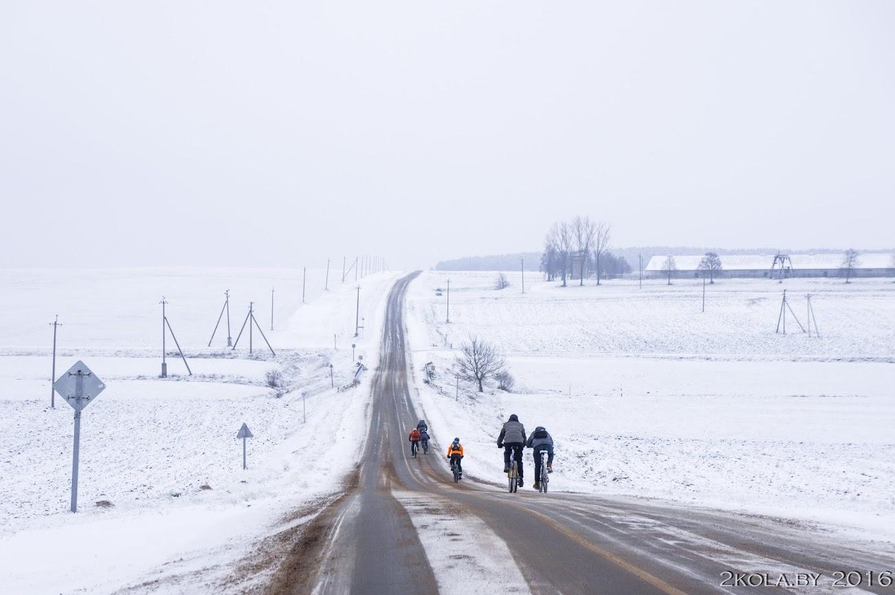 DSC08148 - Зимняя покатушка к резиденции Радзивиллов (Снов-Несвиж-Городея)