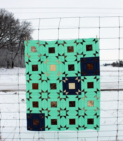 Layer Cake Pop Quilt Along pieced by Kim Lapacek