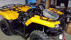 2015 Honda Rancher TRX420 - Cashmere Shop Build
