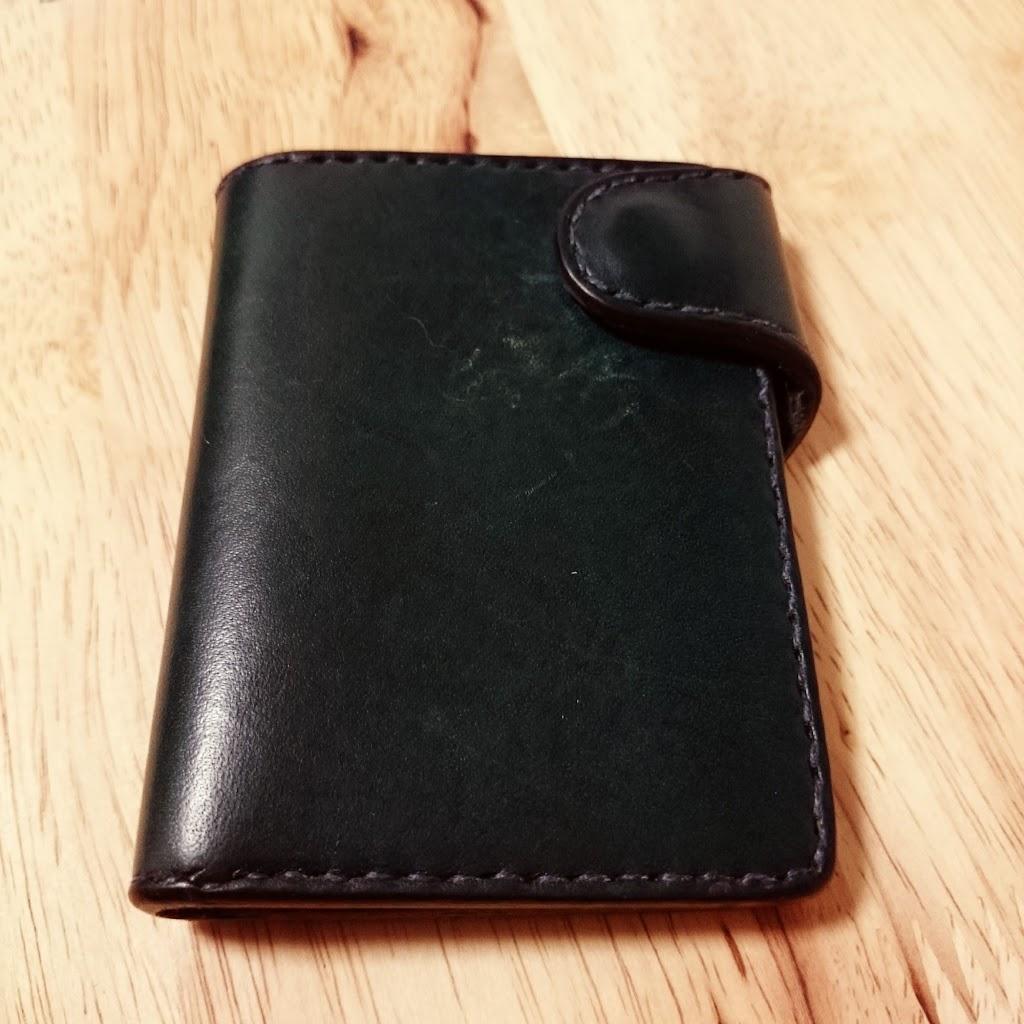 レザークラフト-カードケース