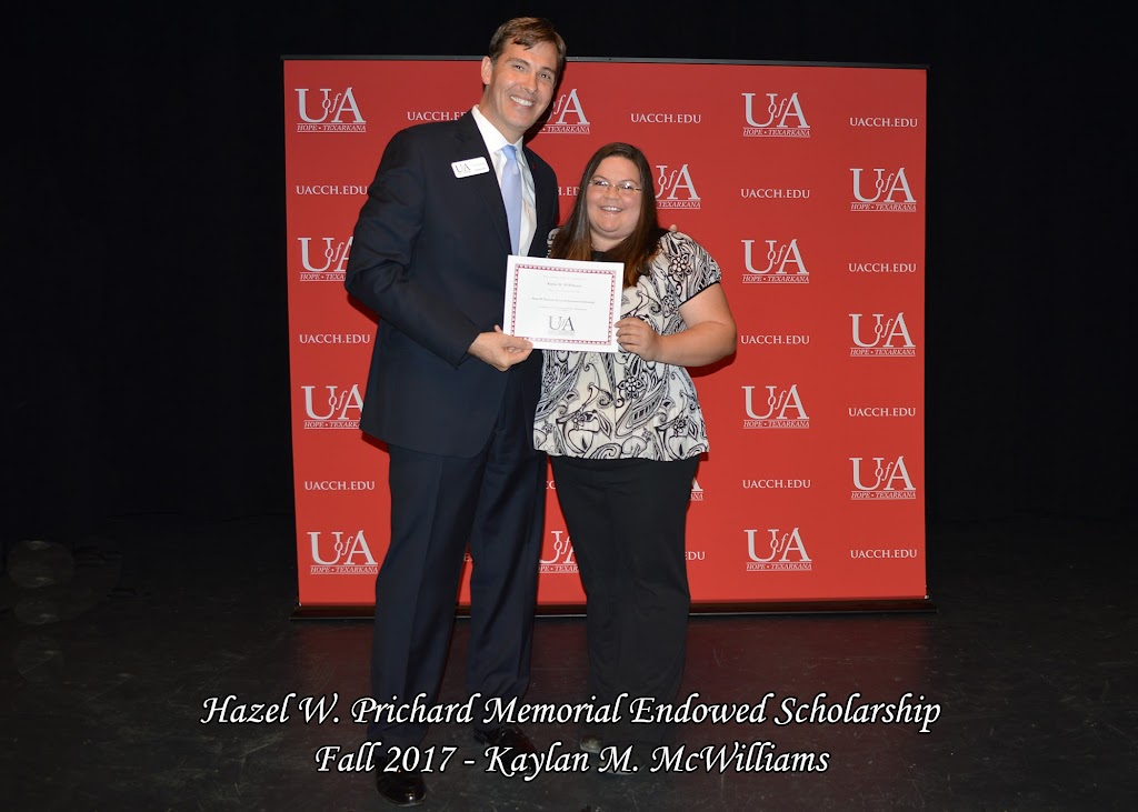 Fall 2017 Foundation Scholarship Ceremony - Hazel%2BW.%2BPrichard%2BMemorial.jpg