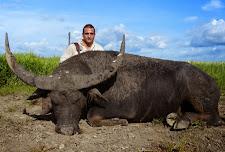 Dr Vittorio Antonacci USA took this big buffalo bull in April