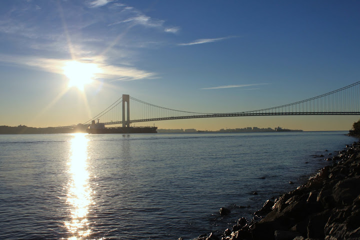 Verrazano-Narrows Bridge from Edgewater Staten Island