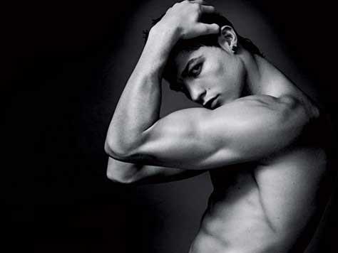 Cristiano Ronaldo, guapo desnudo